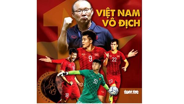 Bàn thắng liên tiếp, U22 Việt Nam vô địch SEA Games 2019