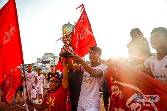 CLB Viettel chính thức vô địch giải hạng Nhất QG 2018 trước một vòng đấu