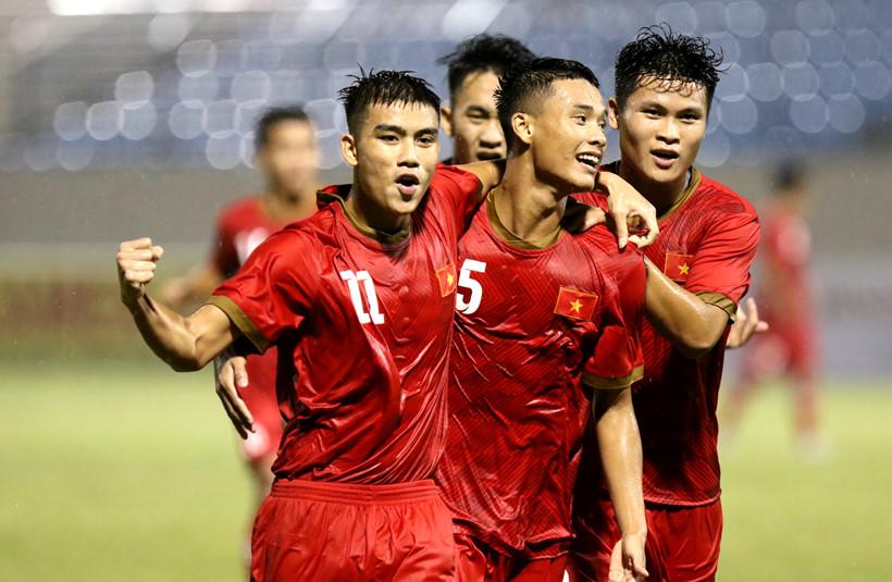 U.21 Việt Nam thắng liên tiếp trong trận với Đại học Hanyang
