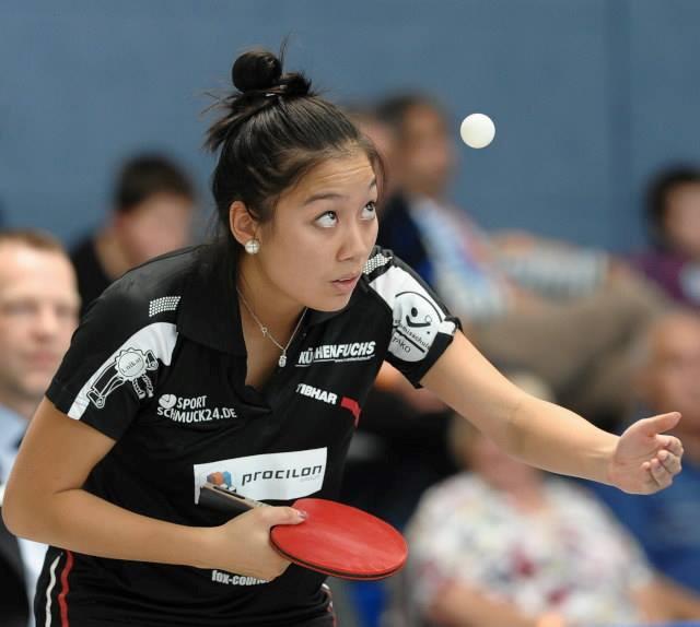 Tay vợt nữ gốc Việt vô địch bóng bàn nước Đức