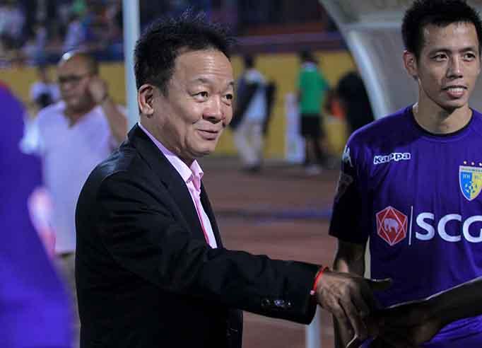 Hà Nội vô địch bầu Hiển lên tiếng về chuyện một ông chủ liên quan nhiều đội bóng ở V.League