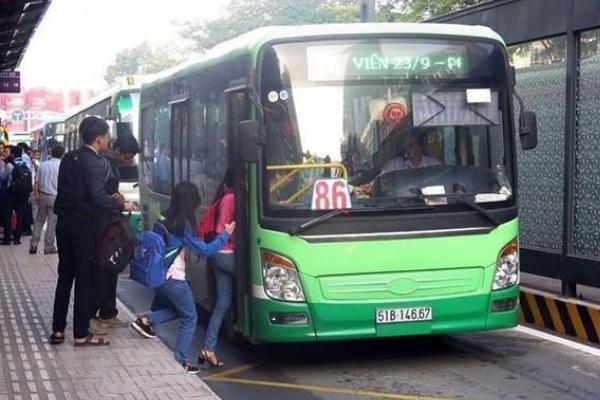 Từ ngày 4/5, 72 tuyến xe buýt tại TP.HCM hoạt động lại