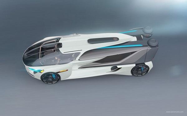 Xe bay thế hệ mới AeroMobil 5.0 VTOL cất cánh như trực thăng