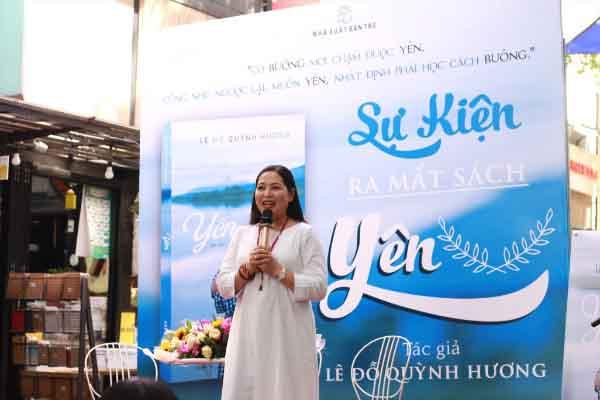 MC Quỳnh Hương viết tiếp về hành trình tìm sự bình an