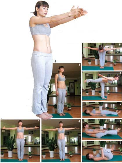 Muốn xương khớp dẻo dai đừng bỏ qua ba động tác Yoga này!