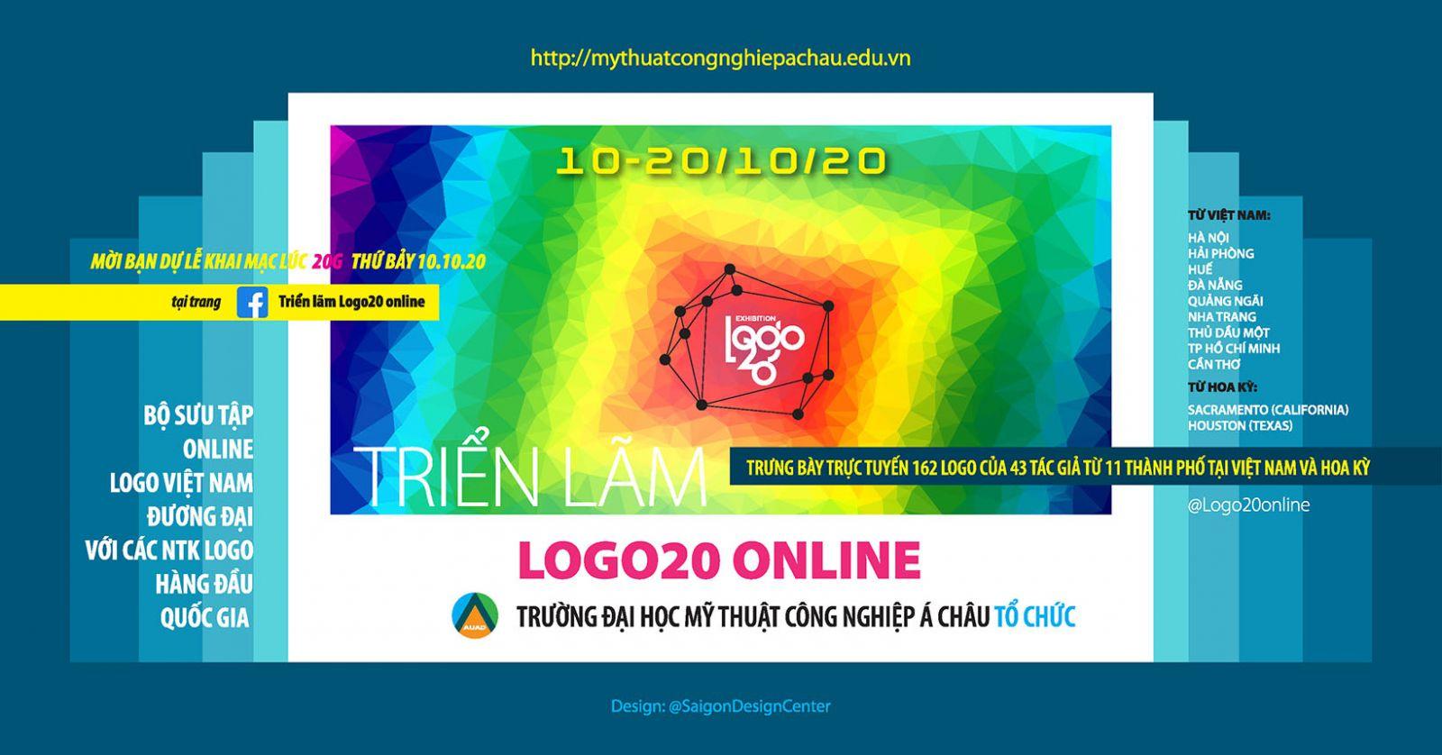 Triển lãm Logo20 trực tuyến đầu tiên ở Việt Nam