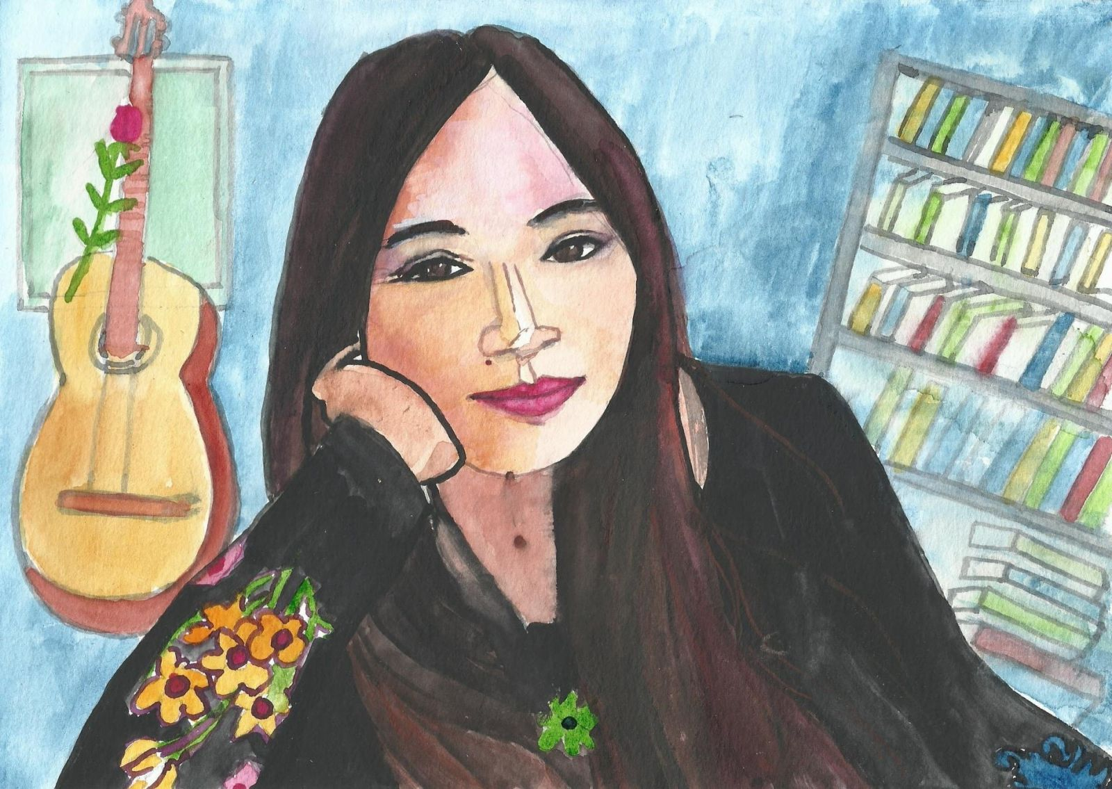 Bộ tranh vẽ nghệ sĩ Việt Nam và Thế giới độc đáo của một họa sĩ sống ở Tây Ban Nha (Kỳ 2)