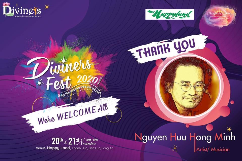 Diviners Fest: 'Những bài thơ tiếp giáp giữa Ngôn từ và Vũ trụ' của Nguyễn Hữu Hồng Minh
