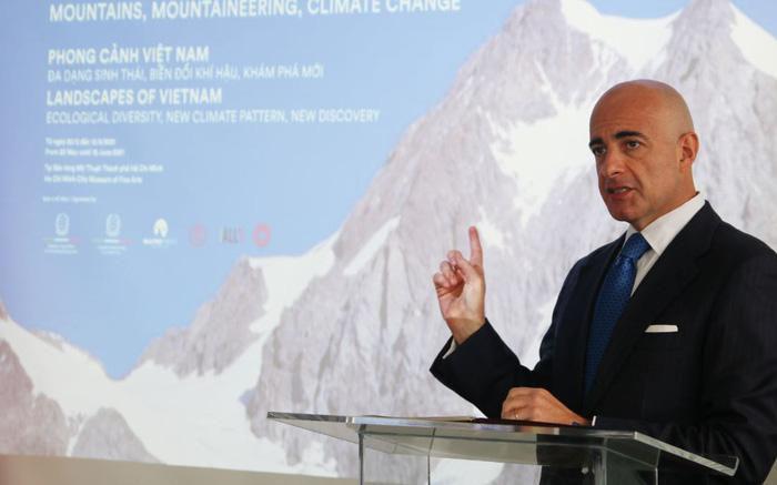 Sau TP.HCM, triển lãm 'Biến đổi khí hậu' của  Italian Routes sẽ trưng bày tại Hà Nội