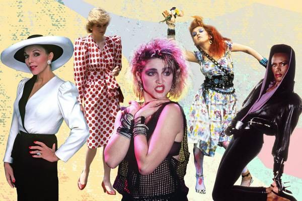Sự trở lại của phong cách thời trang những năm 80 (phần 3)