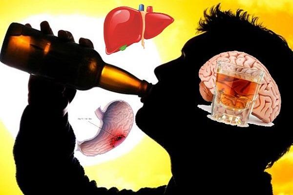 Rượu bia và những tác hại khôn lường đến sức khỏe con người