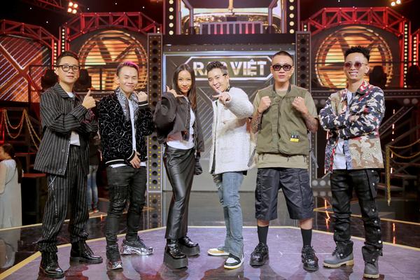 Thời Trang Rap Việt tại vòng đối đầu tập 8