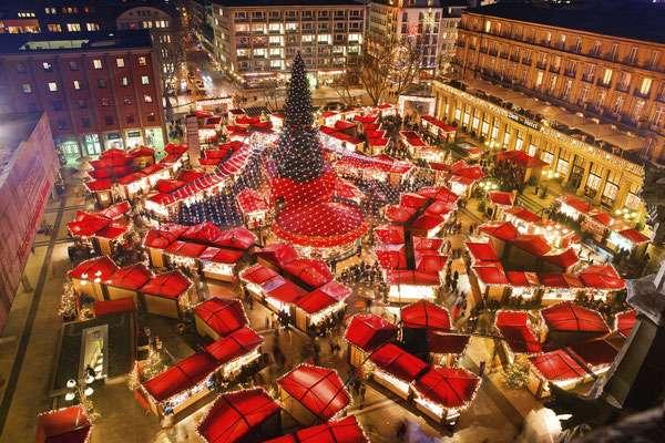 6 chợ Giáng sinh đẹp như cổ tích của châu Âu