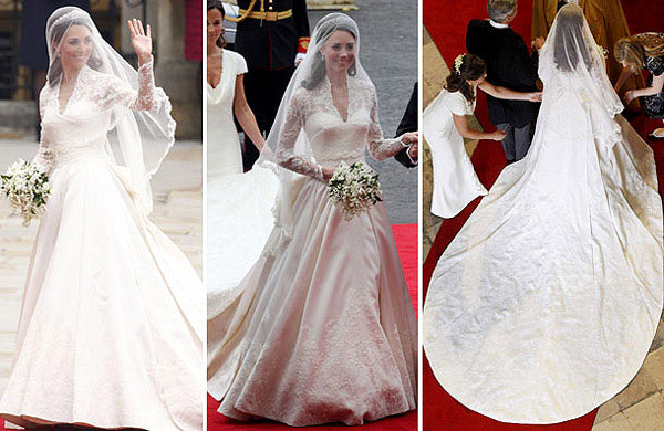 Quy tắc váy cưới của Hoàng gia Anh