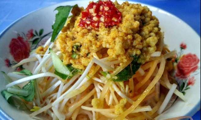 Món bún kèn Út Lượm nổi danh ở đảo ngọc Phú Quốc