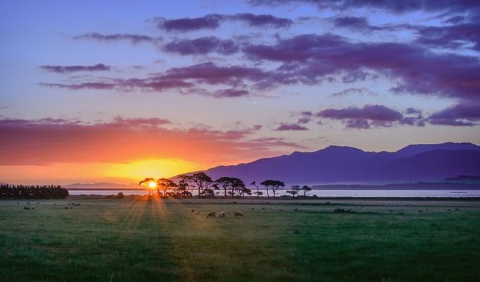 Hòn đảo đón ánh mặt trời năm mới đầu tiên trên thế giới