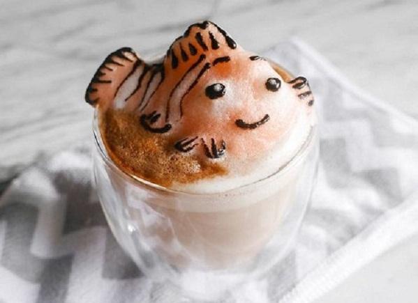 Sao lại có những ly cà phê đẹp đến không nỡ uống?