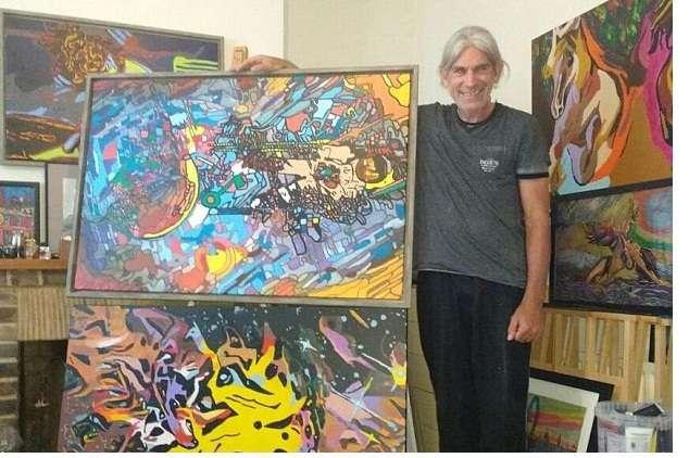 Sau đột quỵ, người đàn ông này trở thành họa sĩ