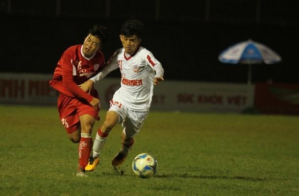 VCK U.19 Quốc gia 2019, HAGL 1-0 Viettel: Màn ra mắt hấp dẫn của hai đối thủ nặng ký