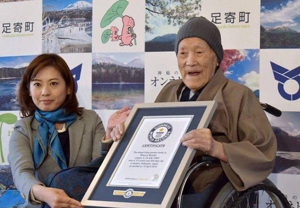 Cụ ông già nhất thế giới vừa qua đời ở tuổi 113