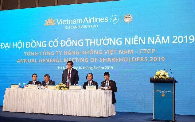 Vietnam Airlines tổ chức thành công Đại hội đồng cổ đông thường niên năm 2019