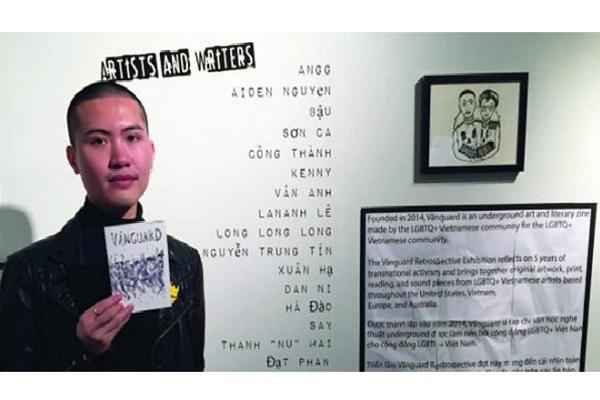 Triển lãm tranh gây ấn tượng mạnh của các họa sĩ LGBT gốc Việt