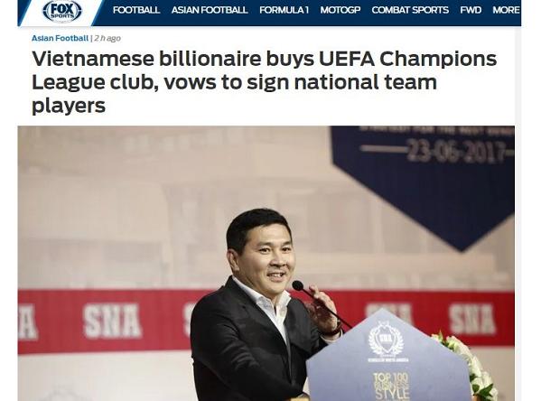 Công Phượng, Quang Hải... có cơ hội dự UEFA Champions League?