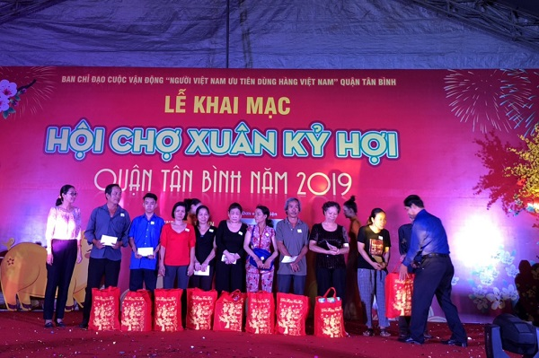 Hội chợ Xuân Kỷ Hợi quận Tân Bình năm 2019