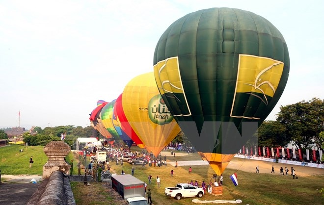Lễ hội khinh khí cầu quốc tế tại Festival Nghề truyền thống 2019