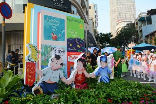 Lễ hội Đường sách Tết Kỷ Hợi diễn ra từ ngày 2 đến 8/2/2019