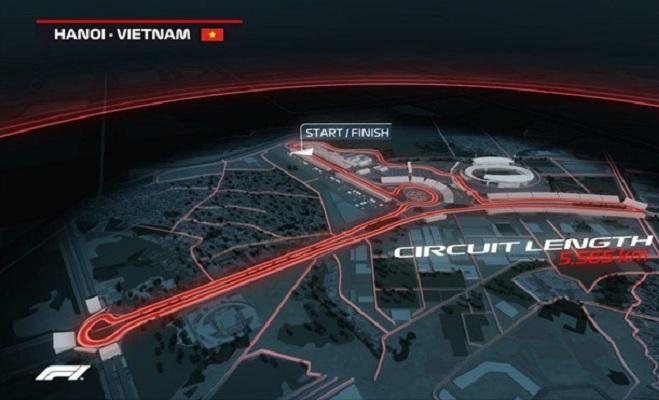 Đường đua F1 Mỹ Đình chính thức được khởi công
