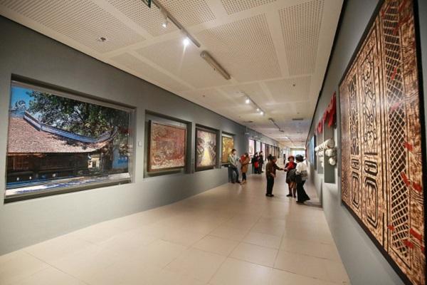 """Hé mở không gian """"bảo tàng nghệ thuật"""" dưới tòa Nhà Quốc Hội"""