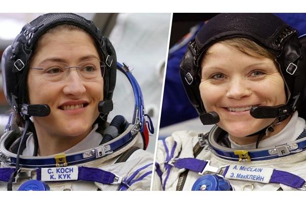 NASA lần đầu đưa nhóm phi hành nữ đi bộ trong không gian