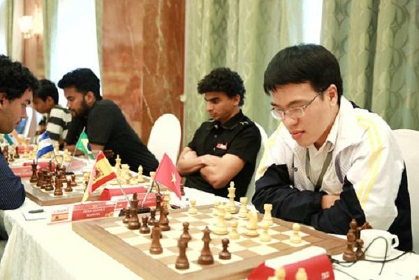Lê Quang Liêm tiếp tục bất bại 7 ván ở giải cờ vua quốc tế