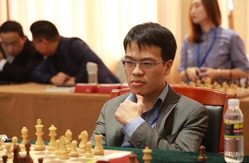 Lê Quang Liêm dẫn đầu bảng xếp hạng giải cờ vua Spring Chess Classic tại Mỹ