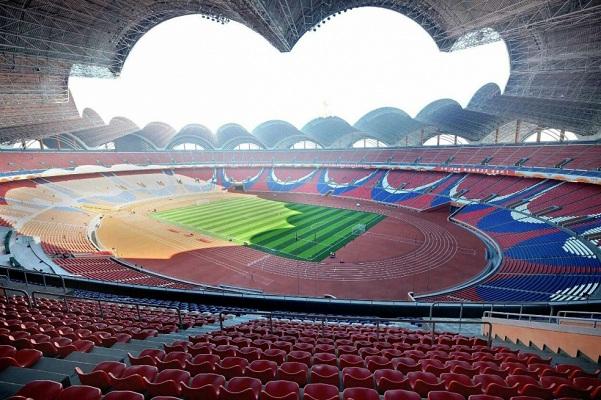Sân vận động lớn nhất thế giới tại Triều Tiên