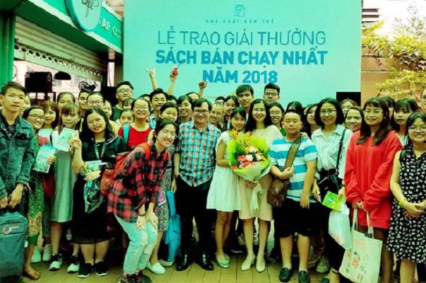 Vinh danh các tác giả Việt có sách bán chạy nhất năm 2018