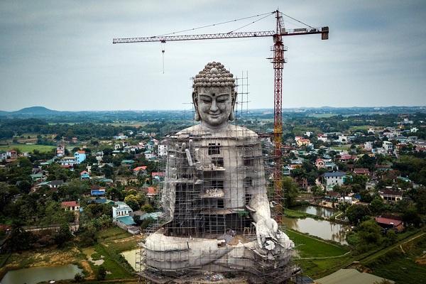 Bức tượng Phật lớn nhất Đông Nam Á sắp hoàn thành