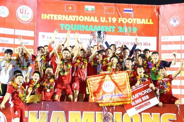Vượt qua Thái Lan, U.19 Việt Nam vô địch U.19 quốc tế