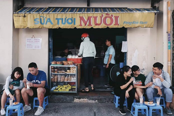 """Khám phá quán sữa tươi """"hot"""" nhất Sài Gòn"""