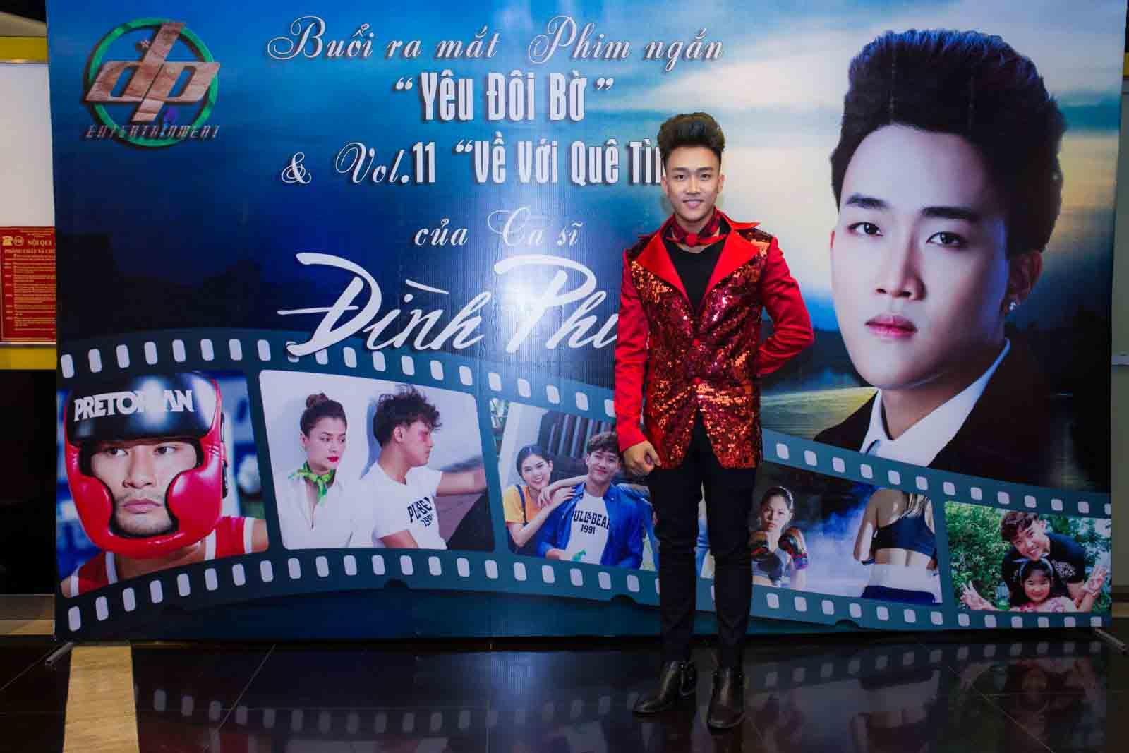 Đình Phước trở thành vận động viên Muay Thái trong phim ngắn 'Yêu đôi bờ'