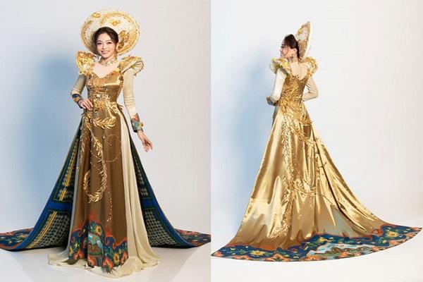 Đại diện của Việt Nam Phương Nga tiếp tục ghi điểm tại Miss Grand International