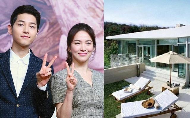 Cùng ngắm biệt thự sang chảnh của cặp đôi Song Joong Ki và Song Hye Kyo