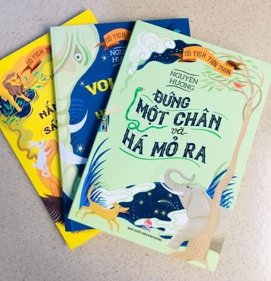 Nhà văn Nguyên Hương ra sách mới: Viết cho thiếu nhi
