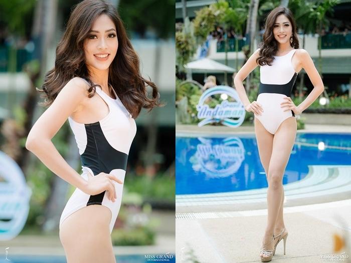 Hút mắt với màn trình diễn áo tắm của thí sinh Miss Grand International 2018
