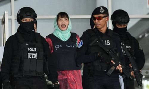 Đoàn Thị Hương sẽ được trả tự do vào tháng sau