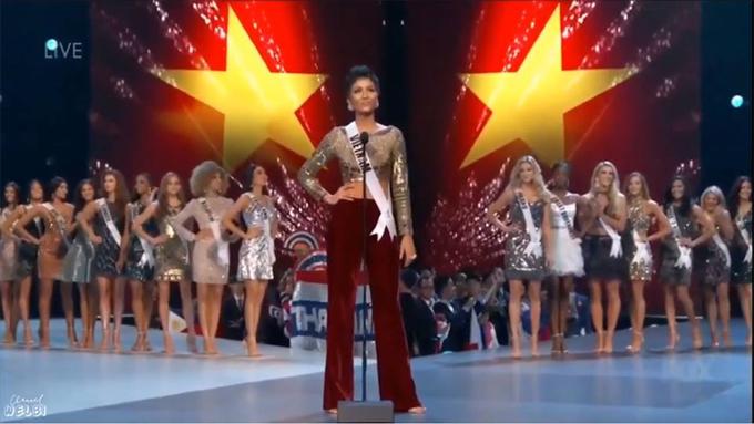 Chung kết Miss Universe - H'Hen Niê dừng chân ở top 5