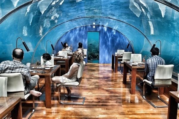 Biệt thự khách sạn dưới biển đầu tiên trên thế giới