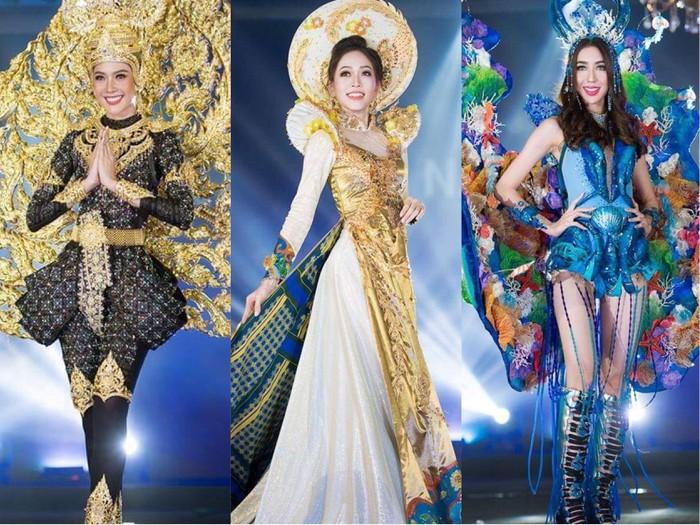 Việt Nam vào top 10 trang phục dân tộc đẹp nhất tại Miss Grand International 2018