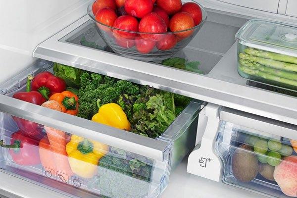 Rửa rau quả trước khi cất tủ lạnh, nên hay không nên?